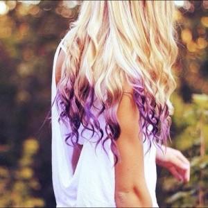 extensii de par violet